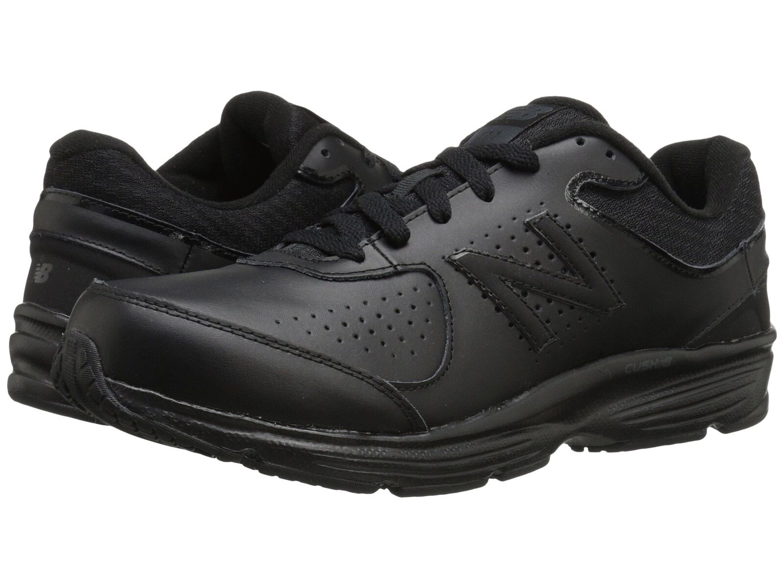 NEW BALANCE Mens 'MW411v2' Black Walking Sneakers Sz 8 EE - 232310