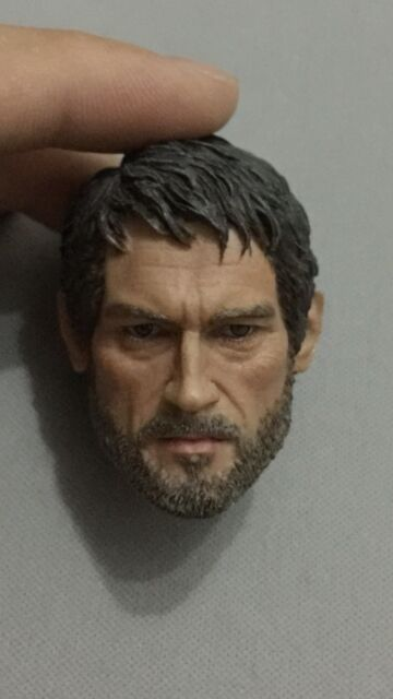 Custom Made 1/6 Last of us Head sculpt fit hot toys iminime body Did Dam