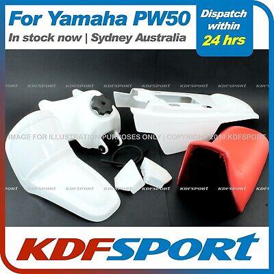 TANK BOLT KDF 1985-2016 YAMAHA PEEWEE PW50 WHITE FENDER PLASTIC SEAT
