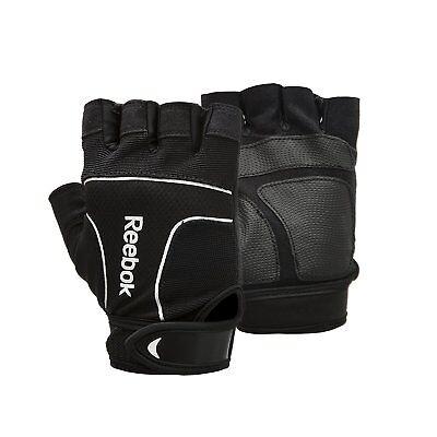 Reebok professionale per il Sollevamento pesi Formazione Guanti Palestra Bodybuilding Esercizio | eBay