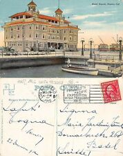 USA California - Naples - Hotel Napoli RARE WITH TROLLEY YEAR 1912 (A-L 577)
