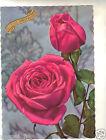 Fleurs - cpsm - Rose - Heureux anniversaire (H7548)