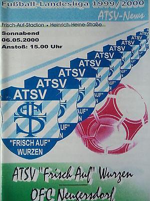 OFC Neugersdorf Programm 1999//00 SSV Markranstädt