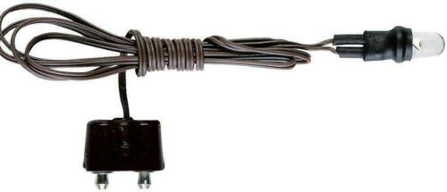 Kahlert LED 5mm weiß mit Kabel und Stecker 3,5 Volt  NEU//OVP