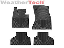 WeatherTech All-Weather Floor Mats for BMW X5 - 2014-2016 - Black