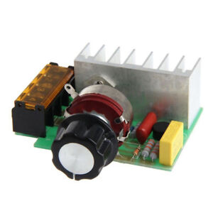 4000W AC SCR Stromspannung Regulator Dimmer Thermostat Electric Motor 220V AHS