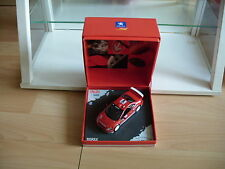 Norev Peugeot 307 WRC Gronholm/Rautiainen 2004 Monte Carlo in Red on 1:43 in Box
