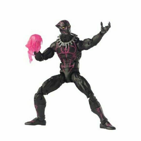 "100/% Hasbro Marvel Legends 6/"" Action Figure Black Panther Suit Purple NEW"