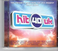 (FK95) Hit 40 UK, 40 tracks various artists - 2 CDs - 2004 CD