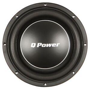 Q-Power-Deluxe-12-Inch-Shallow-Mount-1200-Watt-Flat-Car-Subwoofer-QPF12-FLAT