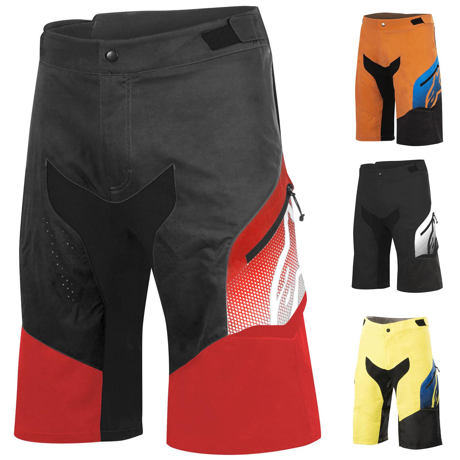 1726016 Para Hombre Deprojoador Pantalones Cortos Bombachos Alpinestars MTB Bicicleta Montañera para Descenso de rodilla