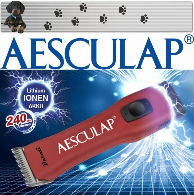 Aesculap Durati au Lithium - Ion Batterie Tondeuse + Snapon Tête de Rasage 1,6