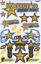 New Rockstar Energy Motocross ATV Racing Graphic stickers/decals. (st98)