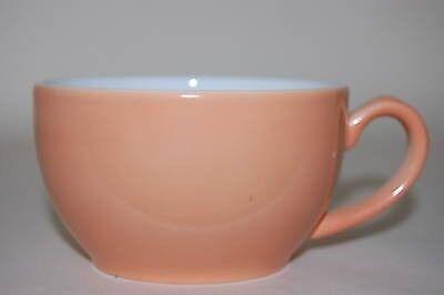 Café supérieure Tasse à café Solid Color saumon Dibbern