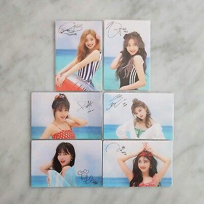 Twice Dance The Night Away Broadcast Photocard Ebay