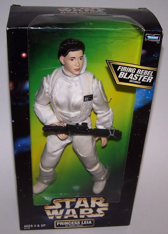 Star Wars Princess Leia Hoth Gear Poseable Doll Action Figure NIB 1998