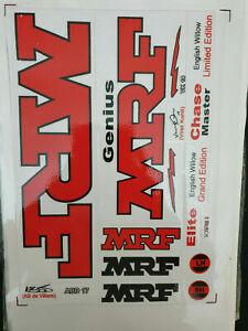 BUY 1 GET 1 FREE MRF VIRAT KOHLI VK 18 GRAND  EDITION 2D CRICKET BAT STICKERS