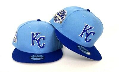 ce3deefb New Era Kansas City Royals Sky Blue 9Fifty Snapback Hat KC | eBay
