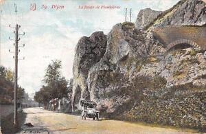 CPA-21-DIJON-LA-ROUTE-DE-PLOMBIERES