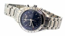 Mens Omega Speedmaster Automatic Day Date Watch Blue Dial 3523.80.00