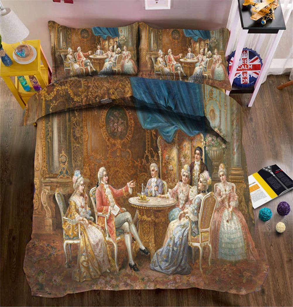 Just Negotiate 3D Printing Duvet Quilt Doona Covers Pillow Case Bedding Sets