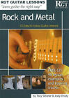 Rock and Metal: 10 Easy-to-Follow Guitar Lessons by Tony Skinner, Andy Drudy (Paperback, 2006)