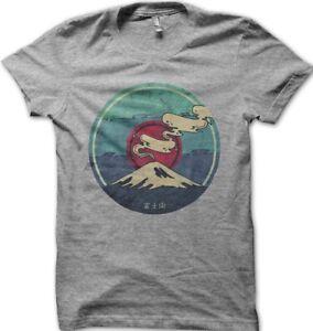 POKEMON-Kanto-old-school-Mount-Fuji-printed-heather-t-shirt-FN9396