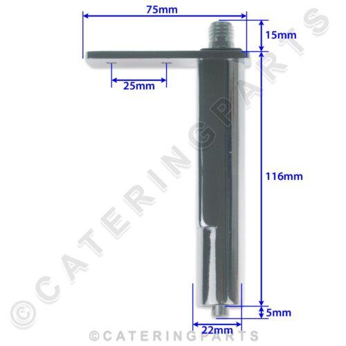 Foster 15230509 haut gauche//droite inférieure charnière de porte Réfrigérateur Réfrigérateur affichage