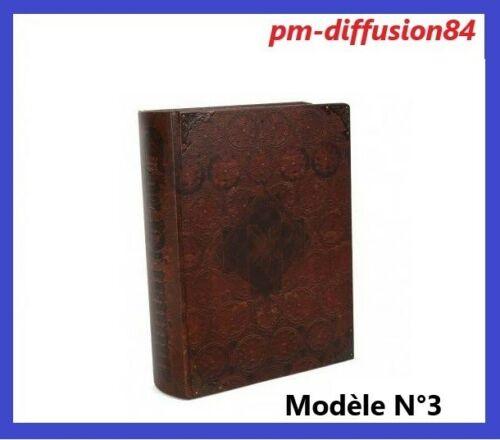 15,5 x 22 x 6,5cms Taille M GRIMOIRE KAVATZA ORIGINAL LOOK ANTIQUE BOITE