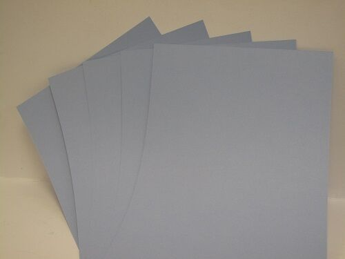 25 x A4 2-Sided Powder Blue 240gsm Card for Cardmaking Scrapbooking CraftS AM401