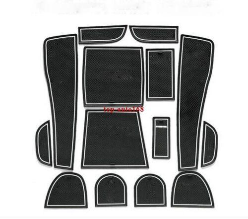 Car 14pcs Interior Door Mat Non-slip Cup Pads For Subaru Forester 2013-2016
