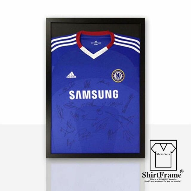 Frame 4X for Signed Football Shirt - DIY Silver | eBay