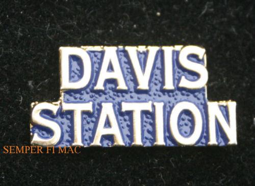 DAVIS STATION BASE ANTARCTICA PIN US MARINES NAVY USS ARMY AIR FORCE AUSTRALIA