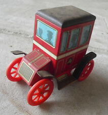Vintage 1960s Modern Toys Japan  Tin Lever Action Old Fashion Car LOOK