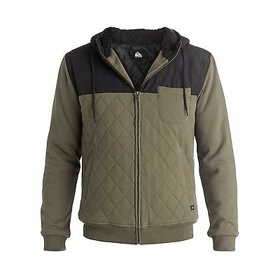 QUIKSILVER New Quilted Flacket Hoodie