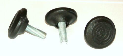 4x M8x23x35 mm Verstellfuß Möbelfuß Stellschraube Stellteller Stellfuß