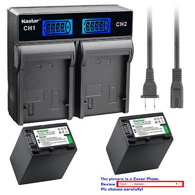 4in 1 LADEGERÄT für Sony NEX-VG30 PREMIUM AKKU NP-FV70