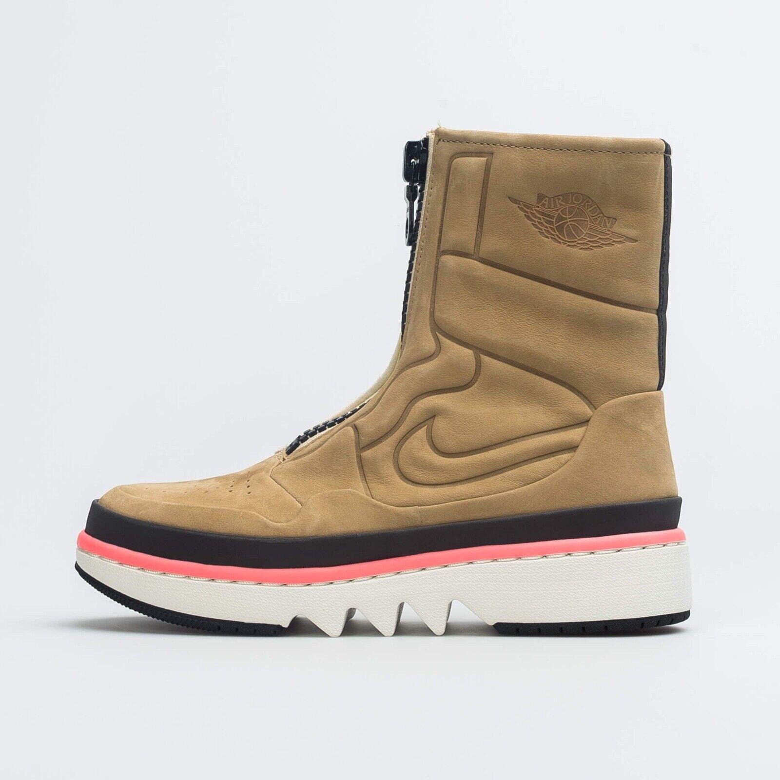 8 Neuf Nike Air Jordan 1 Bouffon Xx Utilitaire Paquet Bottes mi-Mollet Daim