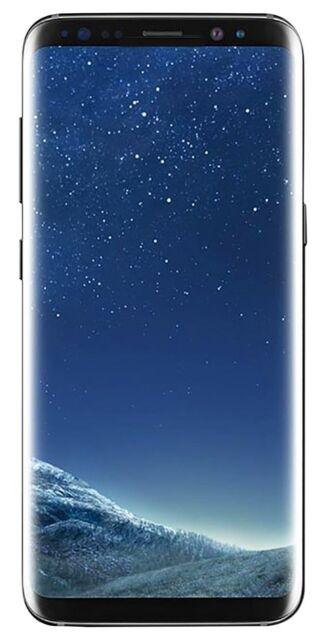 Samsung Galaxy S8+ SM-G955U - 64GB - Midnight Black (Unlocked) Smartphone