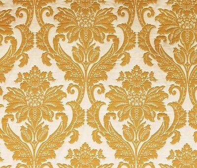 "Jacquard Pineapple  Beatrice Damask Upholstery and Drapery fabric per yard 58"""