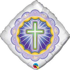 CHRISTENING-PARTY-SUPPLIES-18-034-ILLUMINATED-CROSS-RELIGIOUS-FOIL-BALLOON