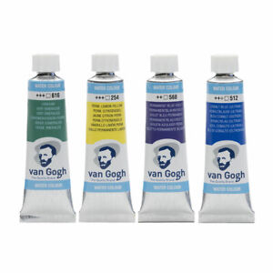 Royal-Talens-Van-Gogh-Watercolour-Paint-10ml-72-Colours-incl-Metallics