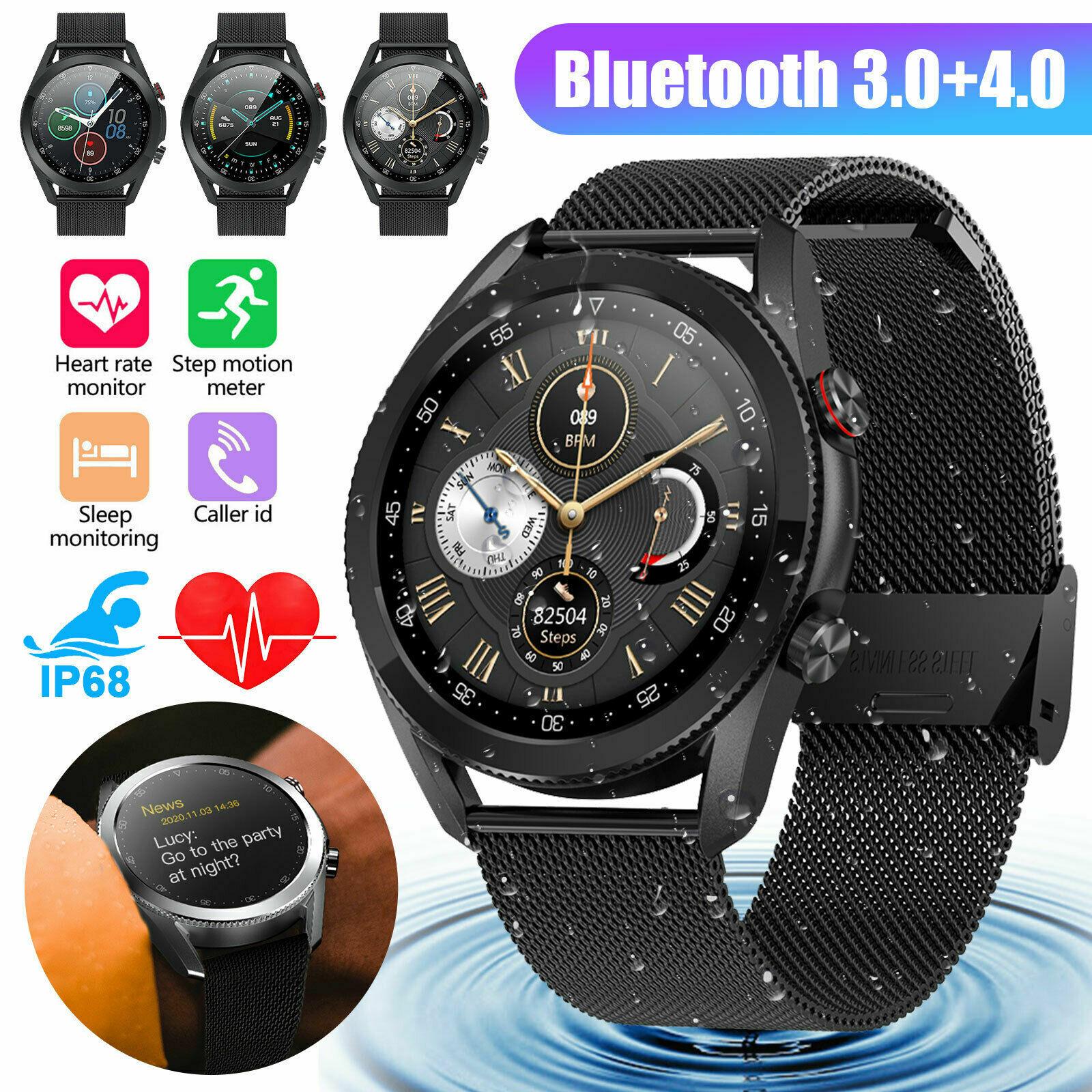Bluetooth Smart Watch Calls ECG Blood Oxygen Heart Rate Monitor IP68 Waterproof blood bluetooth calls ecg heart monitor oxygen rate smart watch