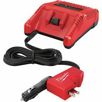 18 Volt M18 Ac/dc Vehicle And Wall Charger Milwaukee 2710-20 on sale