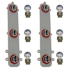pair tail light circuit boards w bulbs fits 02 08 trailblazer left rh ebay com