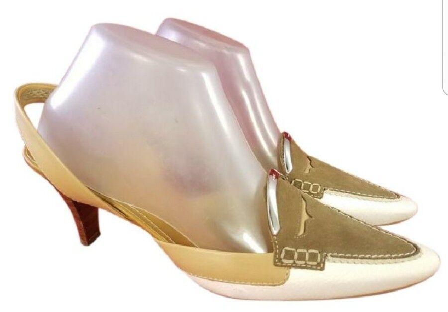 Tamaño nos 9.5    tods tods tods Tod'S Mujer Zapatos Charol blancoo Beige Excelente Estado  moda