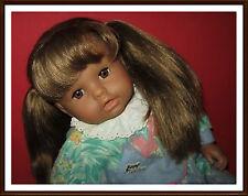 alte vintage Puppe / Babypuppe / Sitzpuppe (Zapf 1980er) - ca. 54 cm - nude!