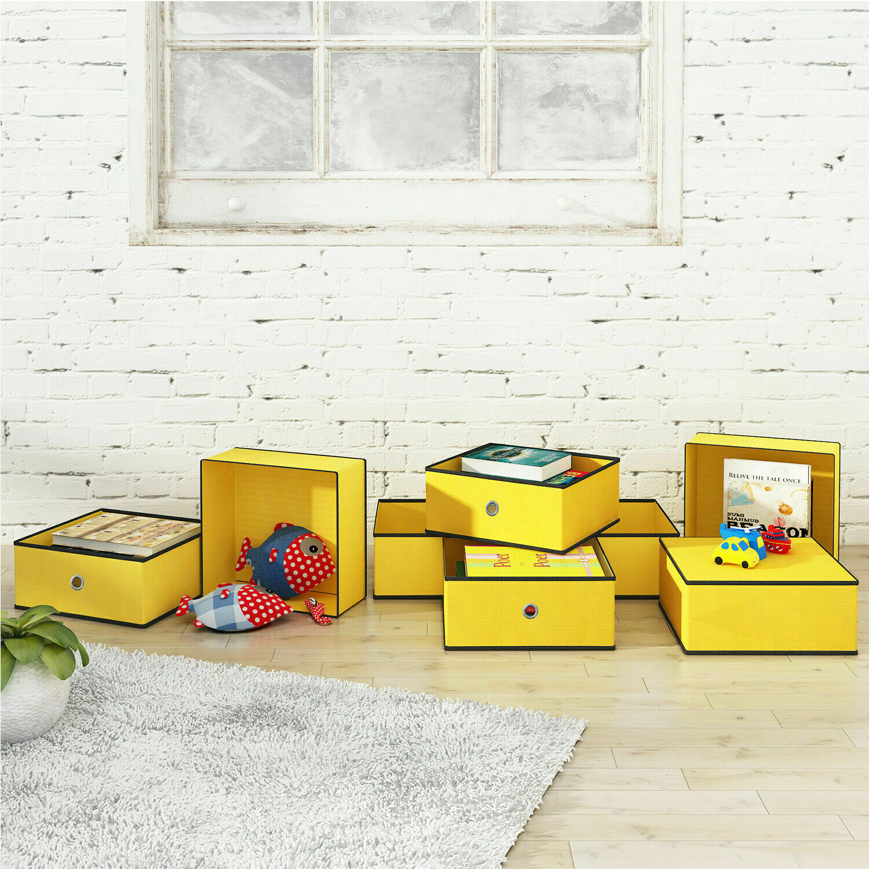 Felt Storage Basket for Key Coin Home Office Desktop Sundries Organizer Q