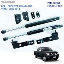 Fit Nissan Navara D40 2005-2014 Front Hood Bonet Shock Lifter Strut Gas Lift