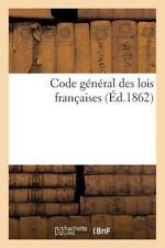 Code General des Lois Francaises by Sans Auteur (2015, Paperback)